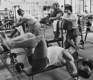 rutina de ejercicios pectoral