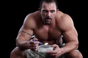 comiendo para ganar musculo
