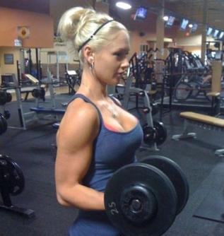 Las mujeres y las pesas